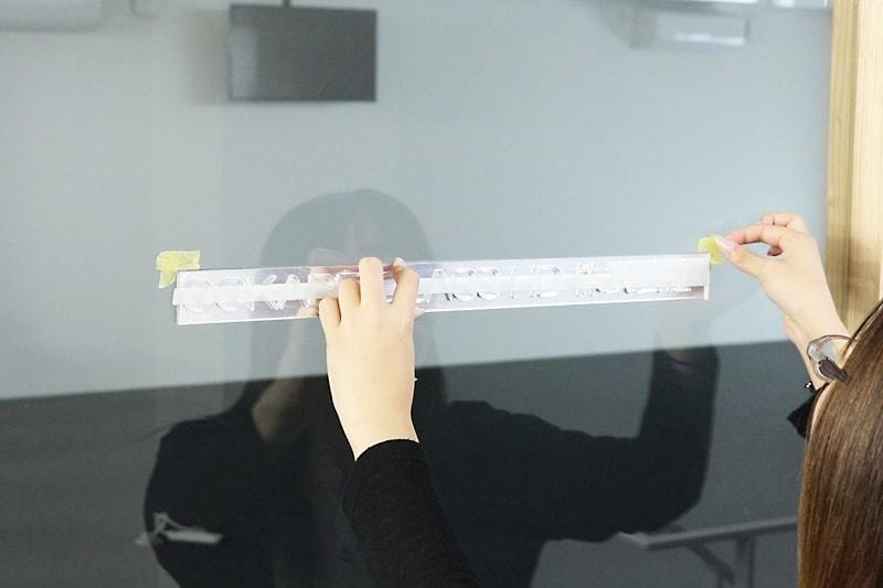 アクリルミラー文字抜き-印をつける(1)