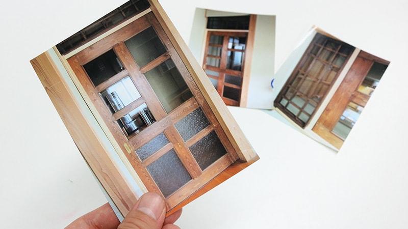一から製作!引き戸や欄間に「ダイヤガラス」や「透明ガラス」を設置した事例(新潟県村上市 K様)のお写真