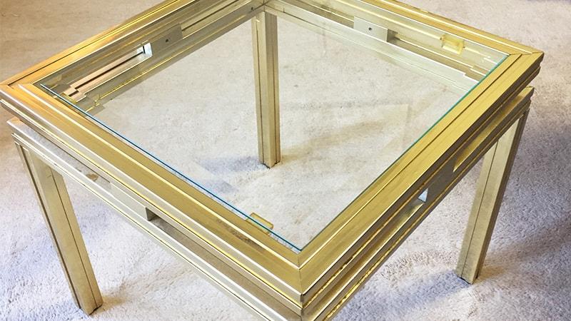 高級感UP!テーブル天板に広幅面取りした「強化ガラス」を設置した事例(東京都世田谷区 A様)のお写真