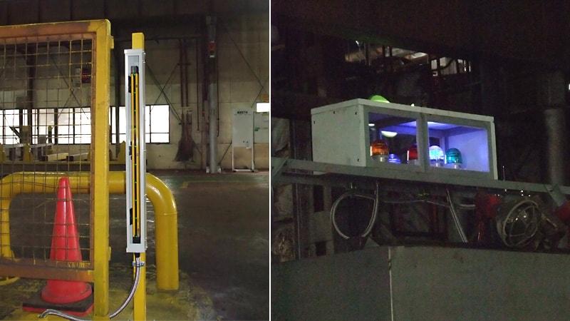 表示灯や赤外線センサーを熱から保護するために「テンパックス」を使用した事例(東京都港区 K社様)のお写真