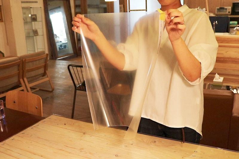 曇り止めフィルムの貼り方(10)
