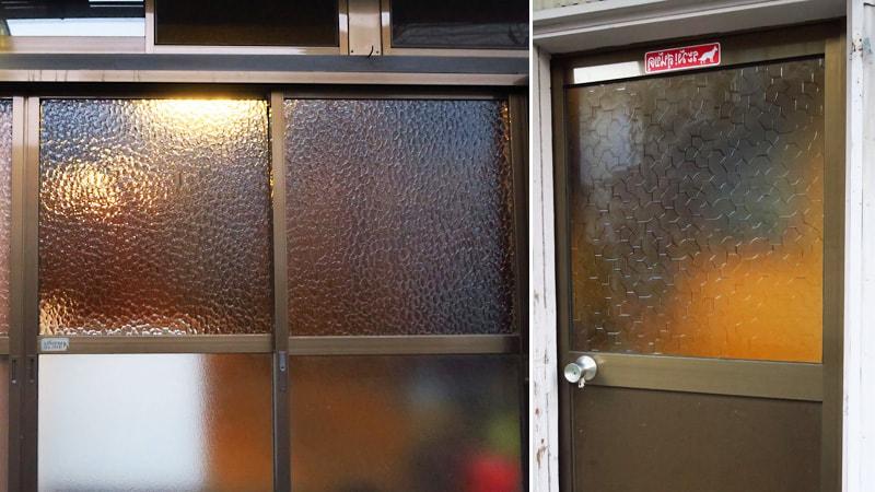 昔ながらのレトロなガラス!築80年の民家に「デザインガラス」を設置した事例(埼玉県飯能市 F様)のお写真