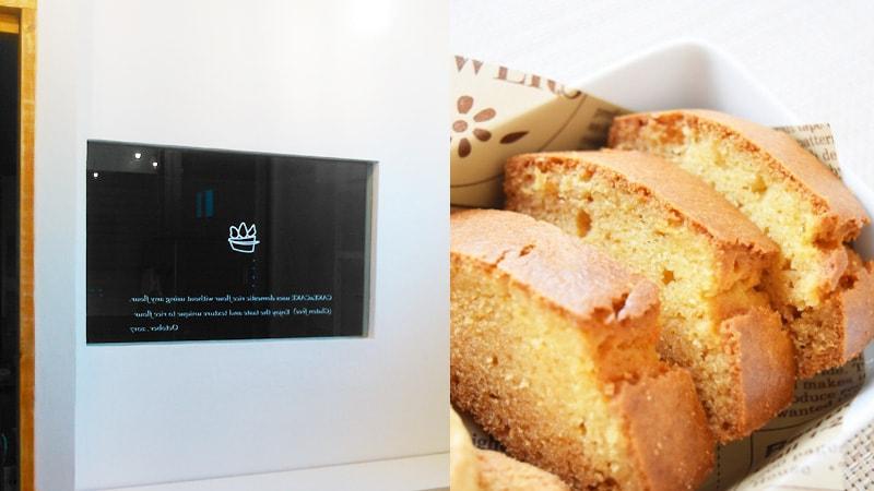 洋菓子店の室内窓に「強化ガラス」を設置した事例(神奈川県相模原市 米粉洋菓子専門店 CAKE a CAKE様)のお写真