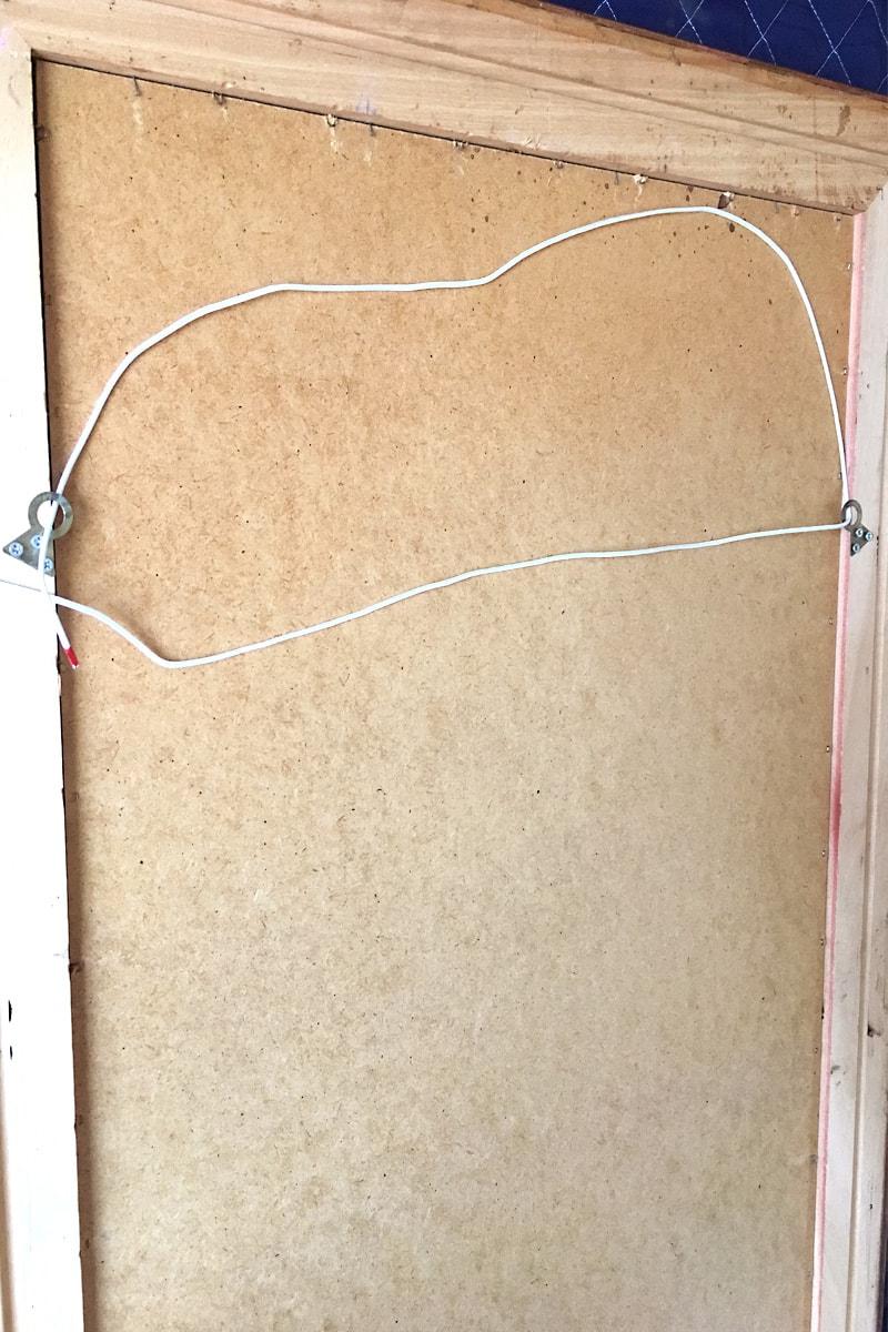 アンティークミラー取り付け方法(11)