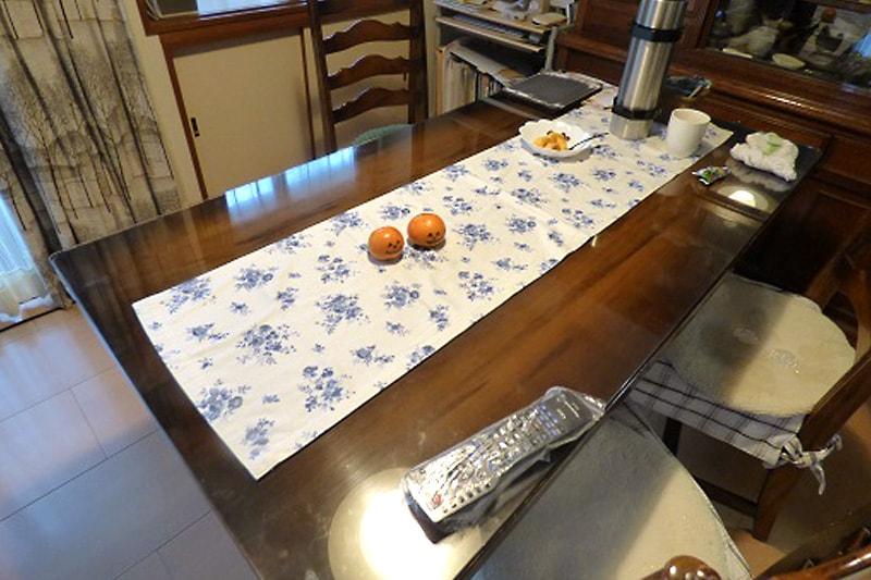 ダイニングのテーブルトップに使用した「強化ガラス」(3)