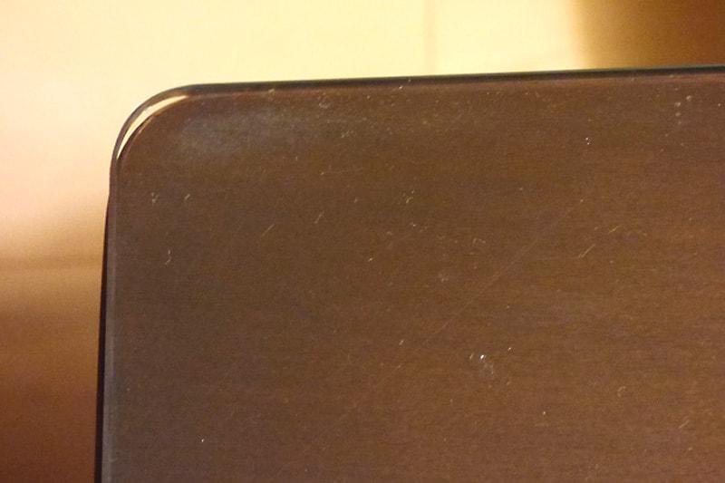 ダイニングのテーブルトップに使用した「強化ガラス」(6)