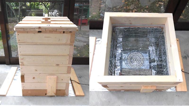 自作の食品乾燥機に耐熱ガラスの「テンパックス」を使用した事例(新潟県佐渡市 K様)のお写真