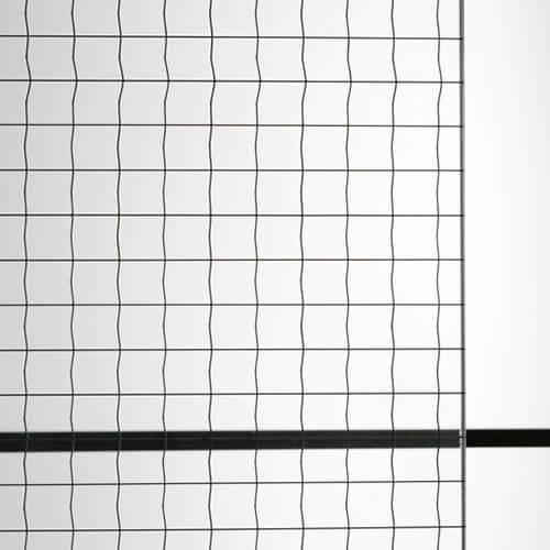 商品写真 : 網入りガラス 磨クロスワイヤ(1)