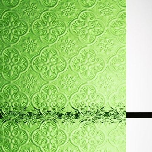 フローラガラス グリーン (FLW-002)のお写真