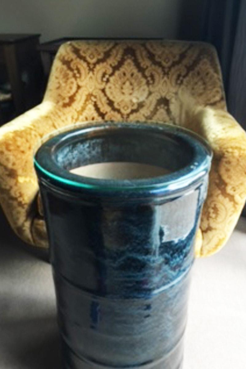 火鉢のテーブルトップに使用した「強化ガラス」(1)