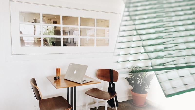 デザインガラスの室内窓で明るいお部屋に!「チェッカーガラス (リストラルM)」を使用した事例3選のお写真