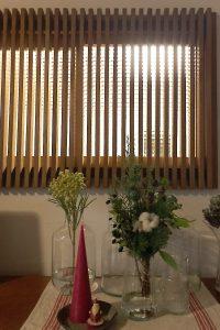 玄関の室内窓に使用した「チェッカーガラス(リストラルM)」(3)