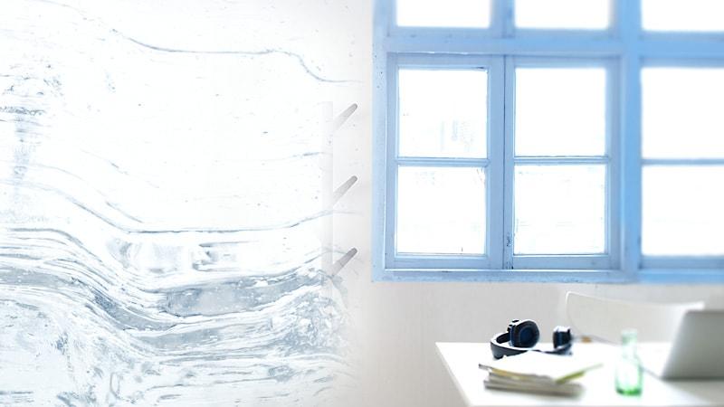 新築・リフォームにオススメ!デザインガラスの「アルトドイッチェK」を使用した室内窓の事例3選のお写真