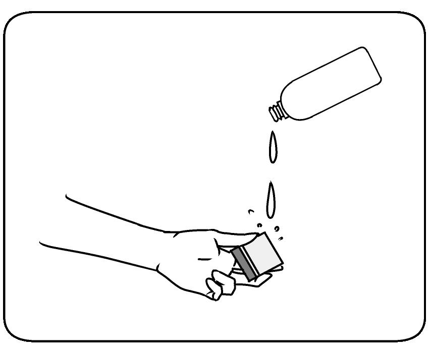 クモラーヌお試しサンプル メンテナンス(2)