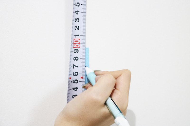 ツメ金具・速乾ボンド・ミラーマットを使用した鏡の取付方法(1)