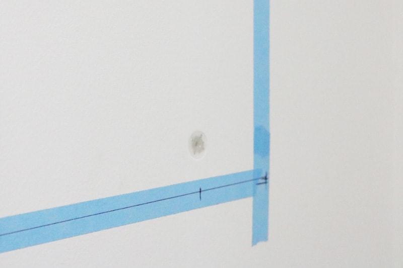 ツメ金具・速乾ボンド・ミラーマットを使用した鏡の取付方法(6)