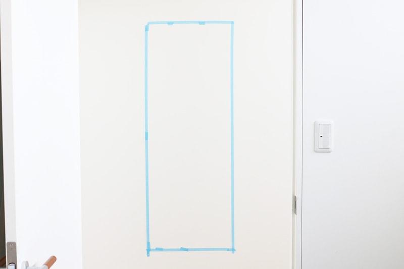 速乾ボンド・ミラーマット・ミラーボンドを使用した鏡の取り付け方(3)