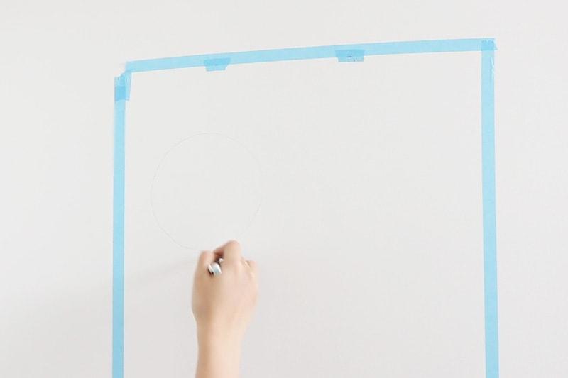 速乾ボンド・ミラーマット・ミラーボンドを使用した鏡の取り付け方(5)