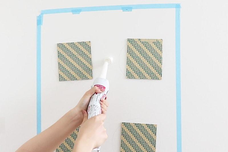 速乾ボンド・ミラーマット・ミラーボンドを使用した鏡の取り付け方(9)