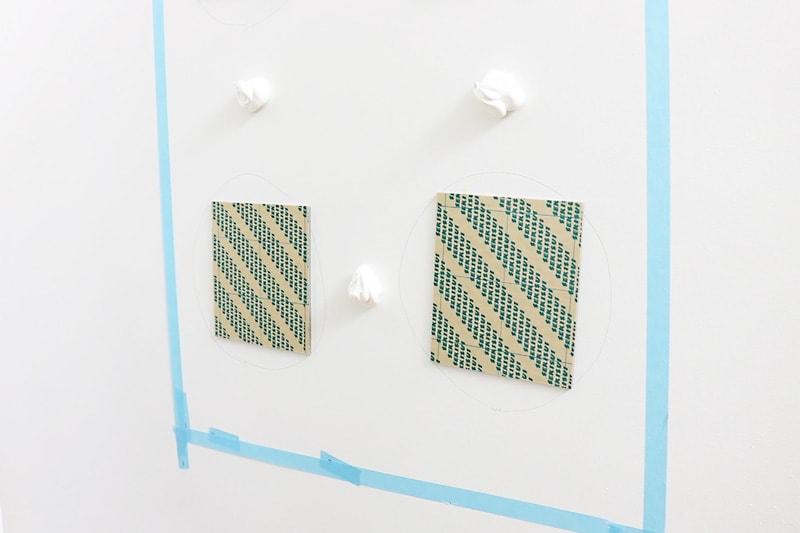 速乾ボンド・ミラーマット・ミラーボンドを使用した鏡の取り付け方(10)