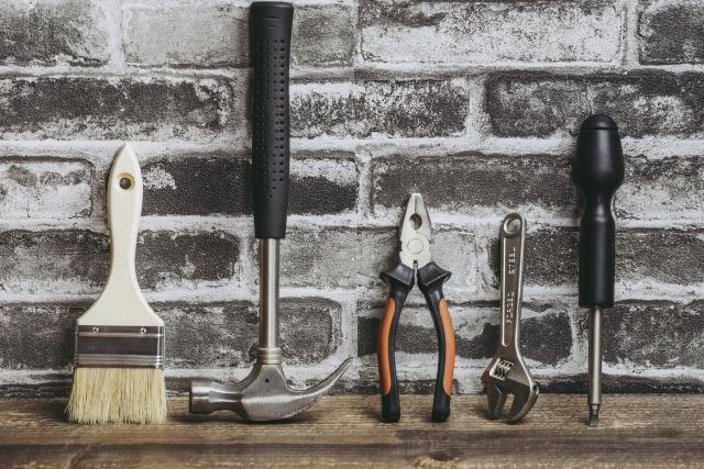 リノベーション用の工具