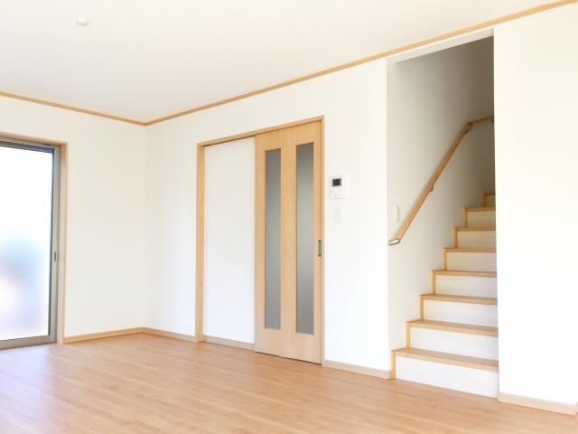 部屋と階段