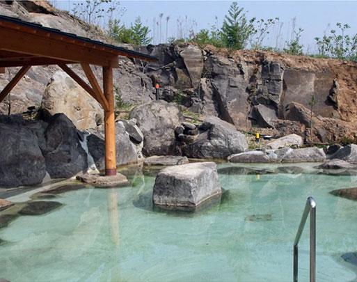 とろみのある美肌の湯は臼杵唯一の天然温泉