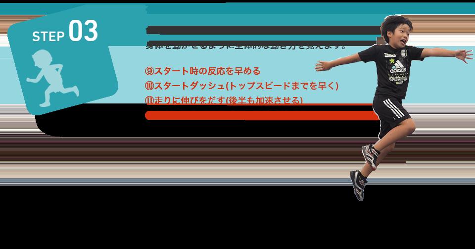STEP03 神経一筋の促通(コォーディネーション系)