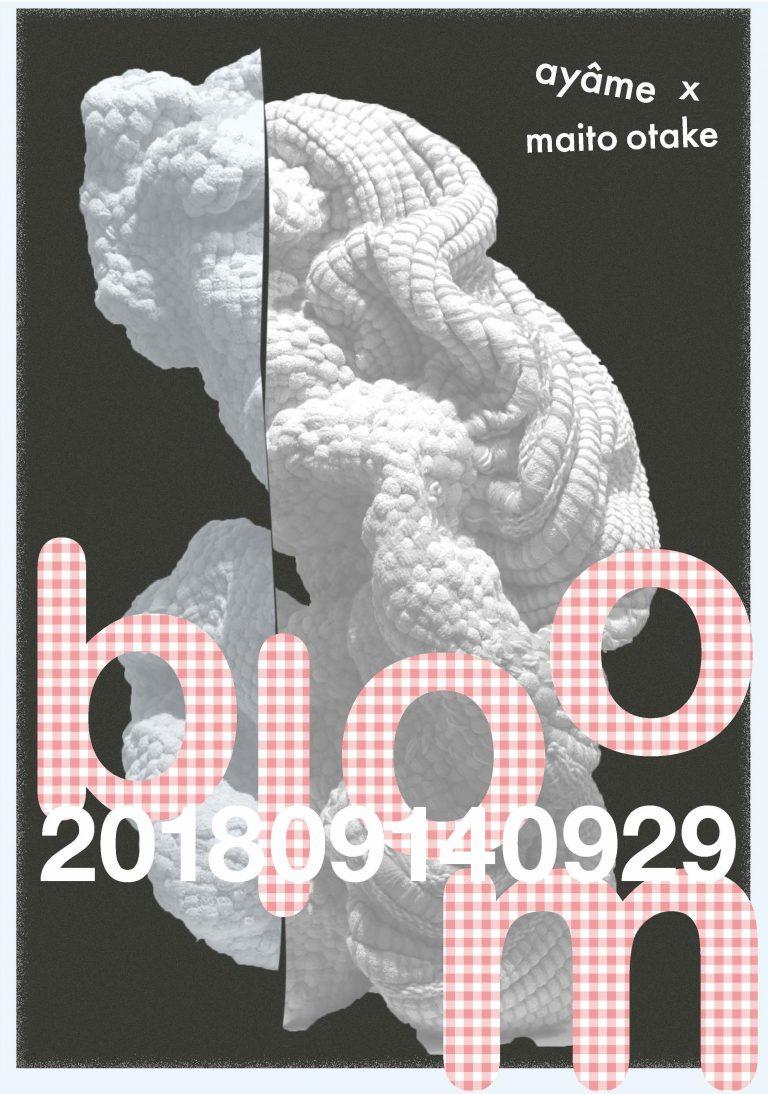 ayâme  ×  maito otake 展 「bloom」
