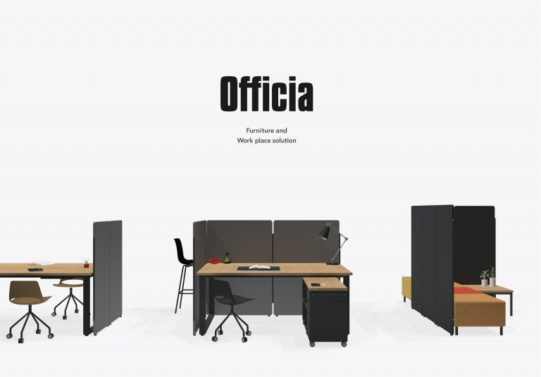 Furniture and Work place solution_ OFFICIA 新作発表会