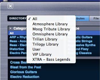 OmnisphereでTrilianやVIP Libraryを使用する