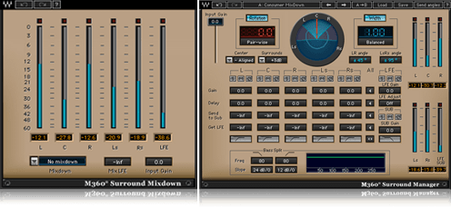 M360 Surround Mixdown Manager