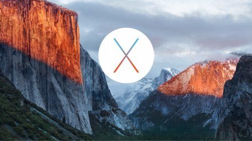 弊社取り扱い製品 OS X El Capitan (10.11) 対応状況