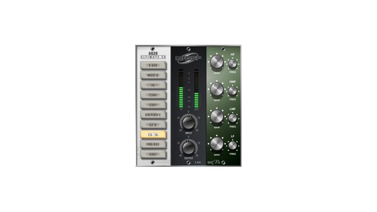 6020 Ultimate EQ | Media Integration, Inc
