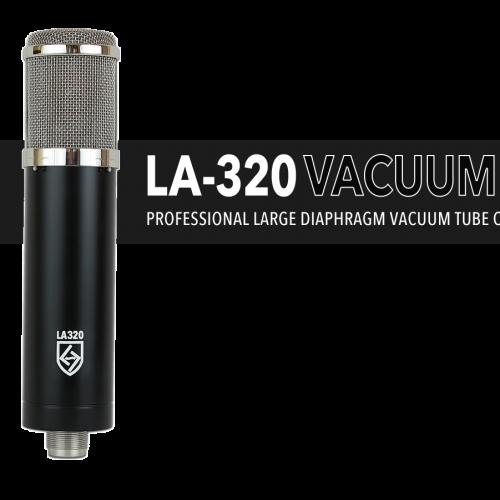 LA-320 SERIES BLACK VACUUM TUBE