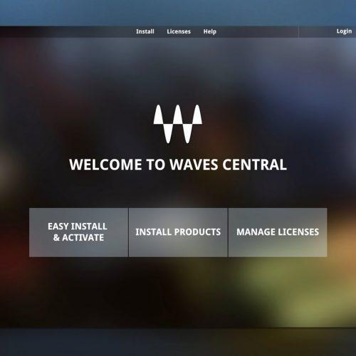 Waves Central使用方法