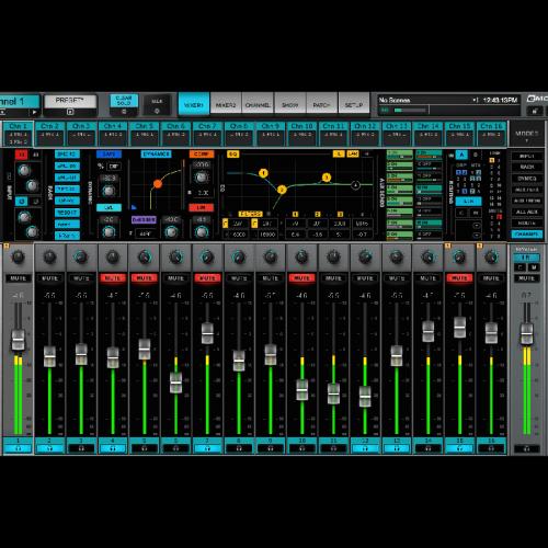 eMotion LV1 Live Mixer