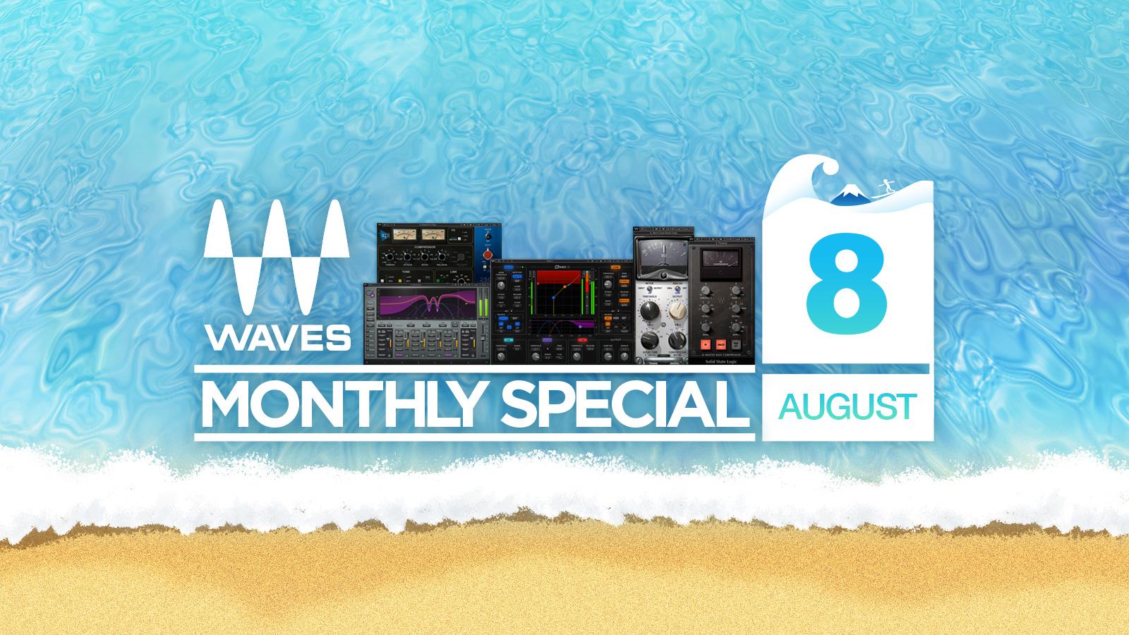 最大93%オフ!Waves August Specials