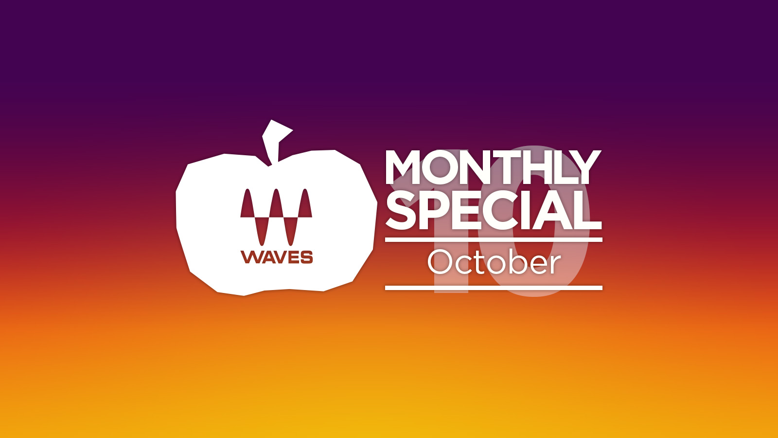 最大91%オフ! Waves October Specials