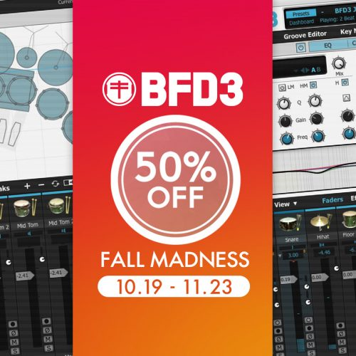 BFD3が50%超OFF!Fall Madnessプロモーション