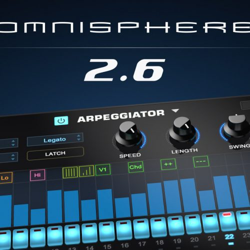 Omnisphere 2 最新バージョン・アップデータ Omnisphere 2.6