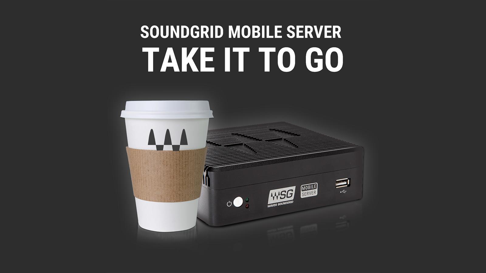 超コンパクトなSoundGrid Mobile ServerとWavesホスト専用PC Axis One、2019年3月発売決定。