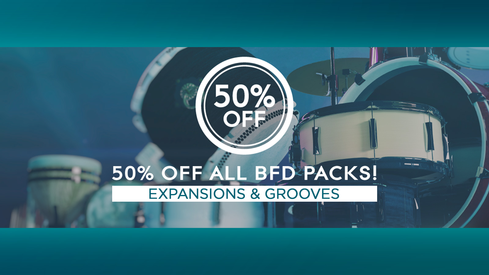 BFD Expansions & Grooves All 50% OFF Sale!