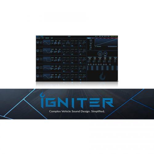 自動車や航空機のエンジン音をデザインする KROTOS Igniter 発売!