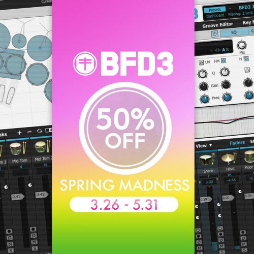 BFD3が50%超OFF!Spring Madnessプロモーション