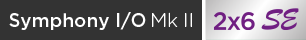 Apogee Symphony I/O Mk II 2×6 Special Edition