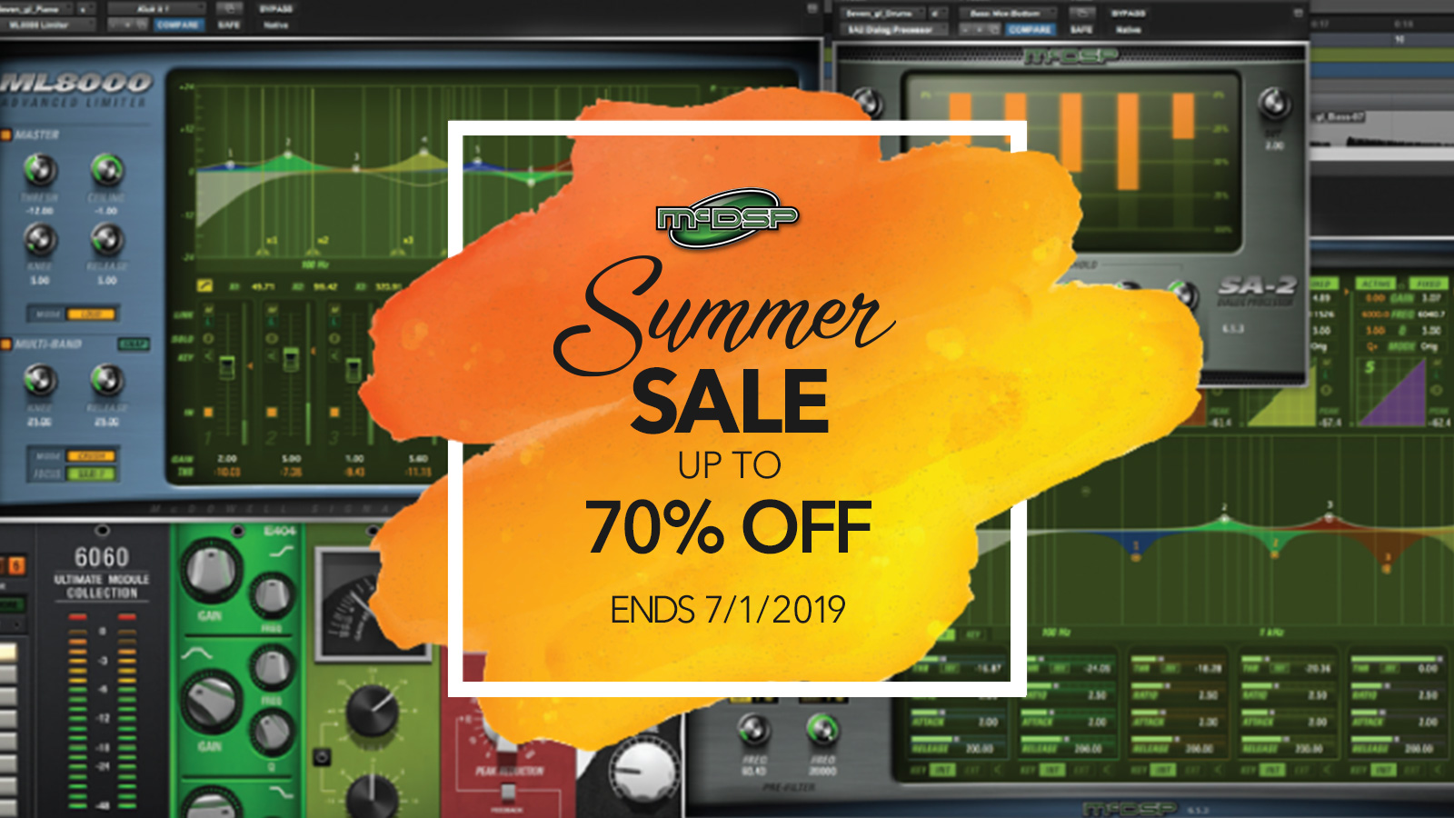 McDSP Summer Sale – up to 70% OFF