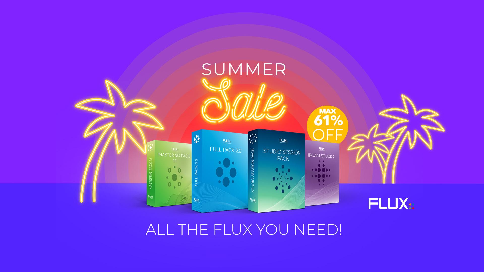 人気バンドルが最大61%オフ!Flux:: Summer Sale 2019