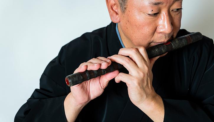 knp Nohkan Flute of Kabuki  Noh
