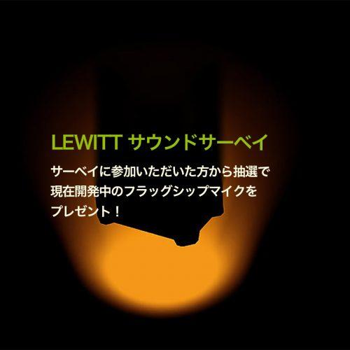 LEWITT サウンドサーベイ